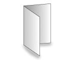 4-seitige Folder - Einbruchfalz