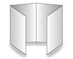 8-seitige Folder - Altarfalz