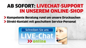 Live-Chat-Support bei Primus-Print.de