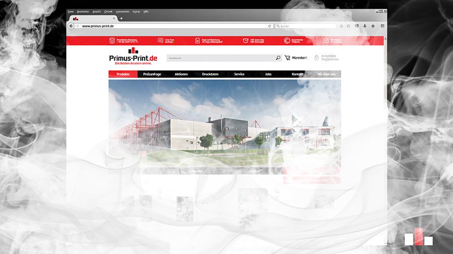 Shop Relaunch Online Druckerei Primus Print S